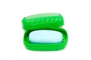 Bar of Soap in Green Box