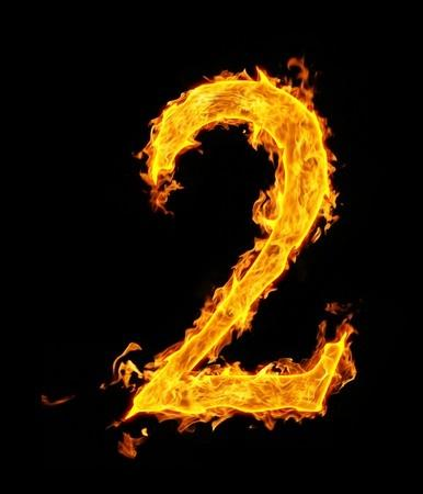 Number 2 in Flames