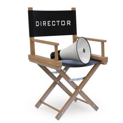 Director Chair with Loud Hailer