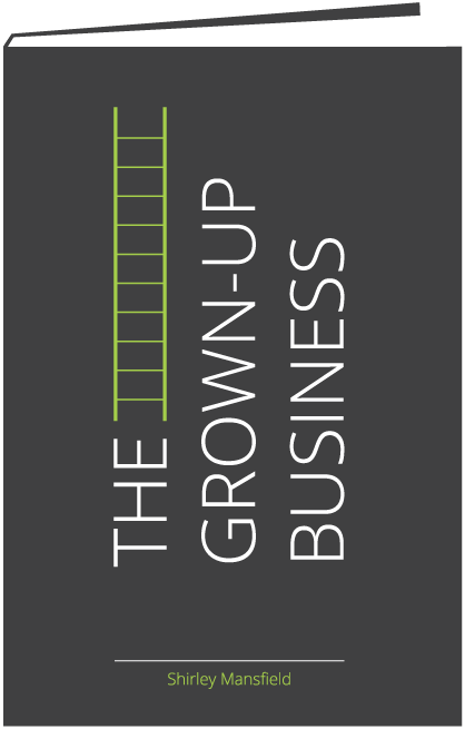 Grown-Up Business Book Cover