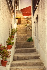 Rustic Staircase Demonstrating price rises